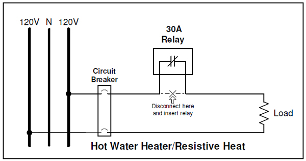 dayton solid state relay wiring diagram control of electric water heaters | energy sentry tech tip water heater dayton timing relay wiring diagram