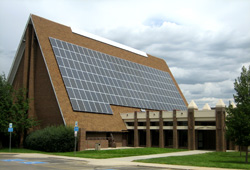 Mountain View United Methodist Church's Solar Panels
