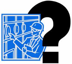 clip art questioning electrician