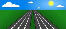 highway illustration